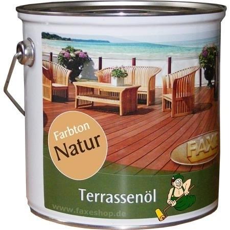 FAXE Terrassenöl 2,5 Liter
