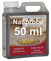 FAXE Holzbodenöl natur 50ml Probe