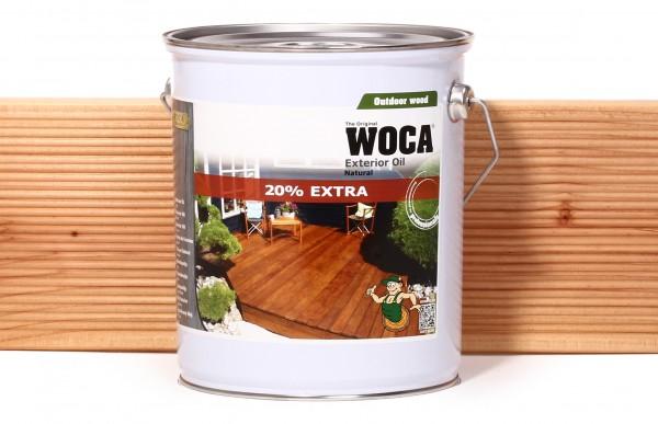 WOCA Exterior Öl 3 Liter - Sonderaktion