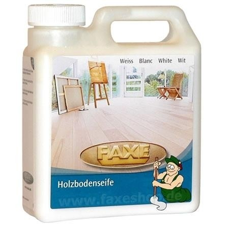 FAXE Holzbodenseife weiß 50ml Probe